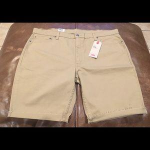 Levi's 511 Slim Fit Shorts Size 42 Men's NWT